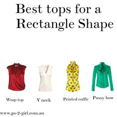 Best tops for a Rectangle Shape by go-2-girl on Polyvore featuring L'Wren Scott, Lola and H