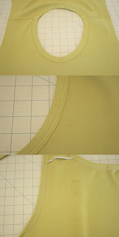 How to sew a knit neckline binding (the standard method) - megan nielsen design diary
