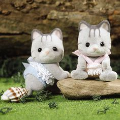 Calico Critters Fisher Cat Twins « Blast Groceries
