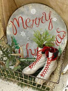 ChiPPy-SHaBBy+Skates+Christmas+Sign+Antlers+Basket.jpg (1200×1600)
