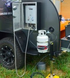 Here you will find photos and videos of our trailers. Whether under construction, at a show, or on the trail, we love to share images of the If you happen to see one of our custom teardrop … Trailer Tent, Off Road Camper Trailer, Trailer Plans, Camper Trailers, Building A Teardrop Trailer, Teardrop Caravan, Teardrop Campers, Off Road Camping, Truck Camping