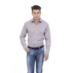 Checked 45 IT - 18 US Versace 19.69 Abbigliamento Sportivo Srl Milano Italia Fit Modern Classic Shirt 377 VAR. 208