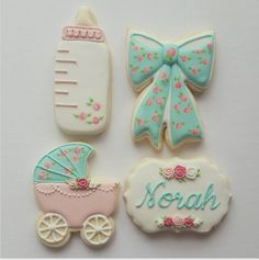 "Jessica Edwards on Instagram: ""#decoratedcookies #customcookies #babyshowercookies #cookies #yxe"""