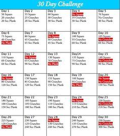 30 Day Core & Butt Workout
