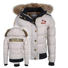 Nickelson Amoen winterjas wit http://www.winkelhorstledermode.nl