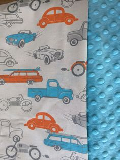 Classic Car Boppy Cover-You Chose the Minky Color on Etsy, $25.00