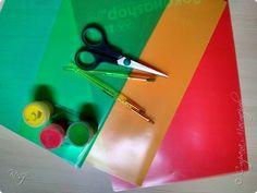 Всем Добрый день! Вот такой мобиль - листопад мы сделали с мальчишками в детский сад для украшения группы. фото 2