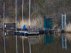 Verlassene #Tretboot #Anlegestelle am Oyter See