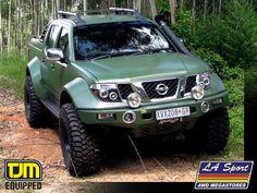 Project Navara 1 - L A Sport custom Navara - 4x4