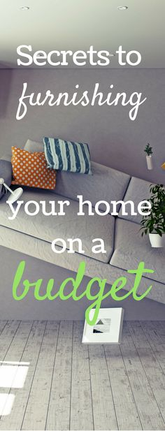 Secrets to furnishing your home on a budget! via @clarkscondensed #CORTClearance #ad