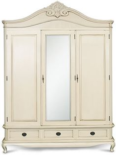 Chantilly Triple Robe - Centre Mirror Width 180cm