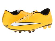 Nike Mercurial Vortex II FG Laser Orange/Black/Volt/White - Zappos. White  Nike ShoesSoccer ...