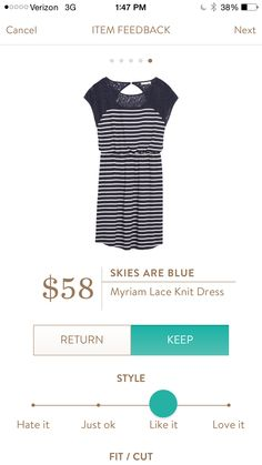 I Love this dress!!! A great Summer Dress - if available I would love this! Skies Are Blue Myriam Lace Dress.