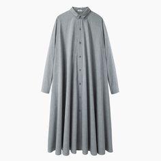 6397 / Pleated Shirtdress