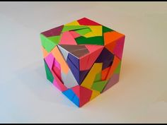 Куб из модулей (Mitsunobu Sonobe), Cube module. - YouTube