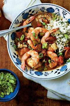 32 New Orleans Classics for Mardi Gras: Shrimp-and-Sausage Gumbo