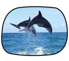 Sonnenschutz Seitenfenster selbsthaftend 45 x 34 cm - Motiv Delfin Whale, Animals, Dolphins, Solar Shades, Windows, Whales, Animales, Animaux, Animal