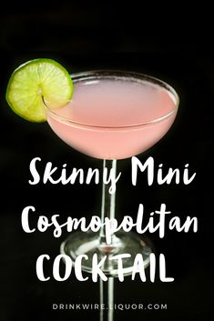 Want to watch those calories try this tasty skinny version of the classic #cocktail.