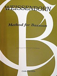 The Bassoon Bible! Required material for all bassoonists. Weissenborn Method for Bassoon