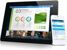 WebEx is a great communication tool for the workplace. This tool makes conference calls easier. Not only can you chat online using a webcam, but you can also share presentations and your screen on your device to everyone participating. This tool is used by many companies to connect their employees in an easier way.
