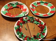 Paper Plate Wreath Christian Christmas CraftsChristmas Crafts For ChildrenCute IdeasEasy