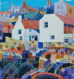 Crail harbour, Scottish Scenes, Fiona Forbes, SAA Professional Members' Galleries