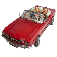 [85078] Forchino - 65 Ford Mustang 66.5cm