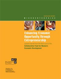 Lessons learned from the third round of the Collaborative Fund for Women's Economic Development