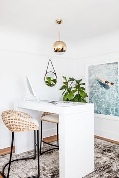 Office Makeover with Rue and Loloi - Julie Edwards