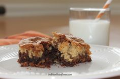 Chocolate Butterscotch Brownies