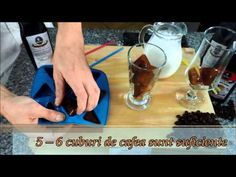 Marea Racoreala - cum sa faci Iced Coffee acasa Iced Coffee, Pudding, Desserts, Food, Tailgate Desserts, Deserts, Custard Pudding, Essen, Puddings