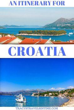 Croatia Itinerary Dubrovnik to Zagreb