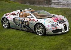 Bugatti Veyron 痛車-itasha-