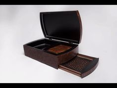 Redwood Burl Box - YouTube