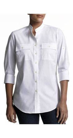 the shirt that won't gape!