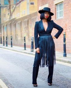 Fashion Bombshell of the Day: Sade from London