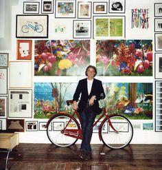 Paul & bike.