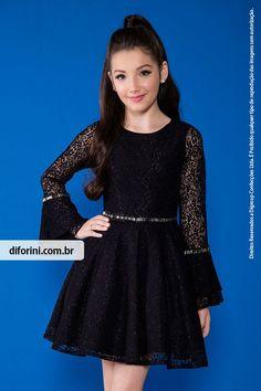 Vestido Infantil Diforini Moda Infanto Juvenil 010819