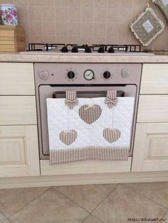 Для тех, кто шьет. Украшения для кухонной плиты
