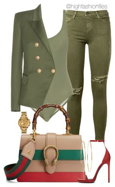 Kadet by highfashionfiles on Polyvore featuring polyvore fashion style Balmain…