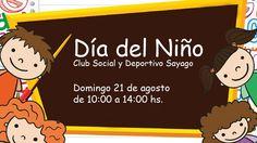 Estedomingo 21 de agosto, el Club Sayago invita a todos los vecinos a…