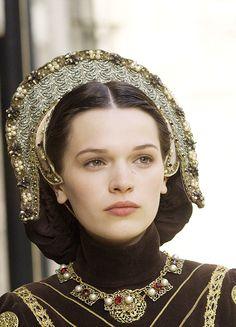 The Tudors  costumed by Joan Bergin. Beautiful!