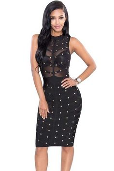 Studded dresses cheap