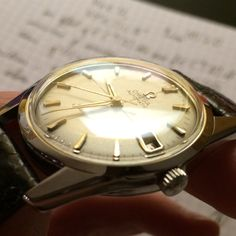 Vintage late 50' Omega Seamaster Crosshair with cal.562