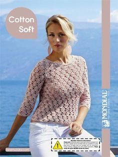 Crochet Patterns Galore - Cotton Soft Lace Pullover