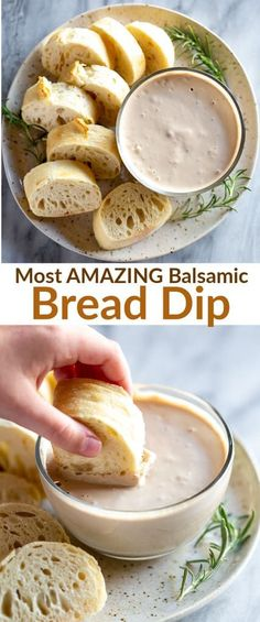Easy balsamic bread dip made with seven basic ingredients and served with your favorite crusty bread. This bread dip is ALWAYS a hit at parties. via # easy dinner recipes baked Balsamic Bread Dip Appetizer Dips, Yummy Appetizers, Appetizer Recipes, Dinner Recipes, Dinner Ideas, Easy Dip Recipes, Bread Appetizers, Easy Recipes For Kids, Easy Recipes For College Students