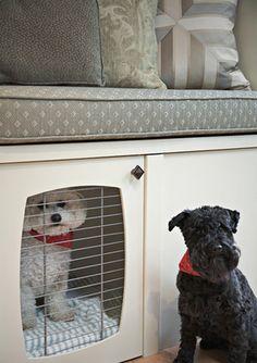 dog kennel/window seat...i want it