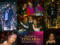 Awesome  entertainment, awesome food, awesome company:) Madame Zingara's Theater of Dreams