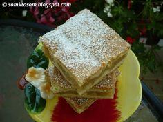 Jablkový koláč - pité