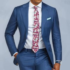 Keep your summer cool in our Lecce light blue suit Cut from a lightweight Super 110's fabric from our friends at Vitale Barberis Canonico in Italy. www.Grandfrank.com
